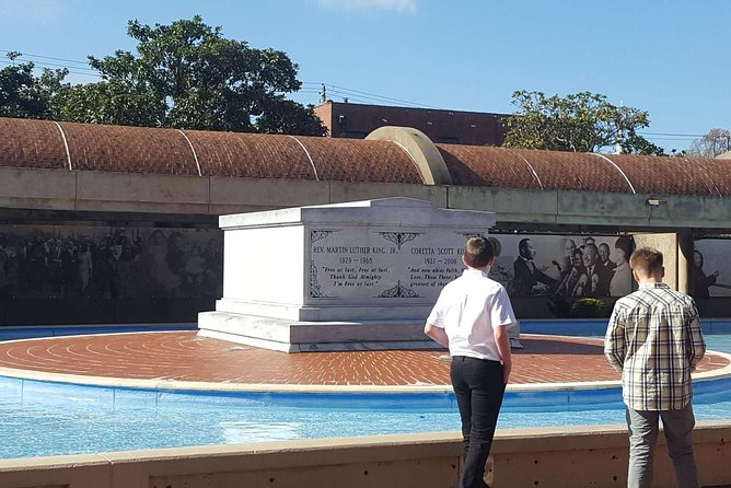 Dr. King and Coretta Scott King's final resting place
