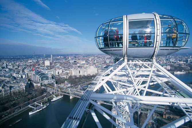 London Eye Fast Track Ticket with a Professional Guide - a VIP Experience