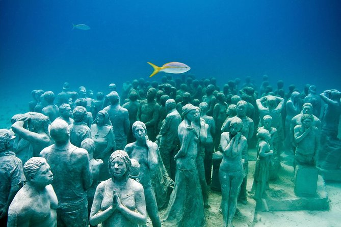 Discover Scuba Diving at the Underwater Museum in Cancun