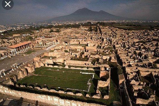 Pompeii and Vesuvius 6 hours