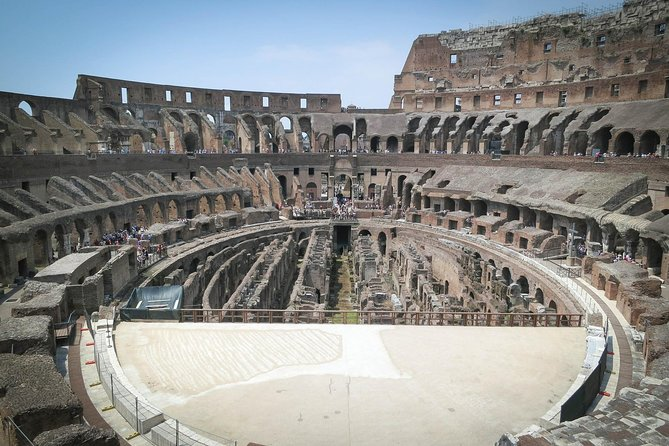 A private walk in the Colosseum with an official guide photo 2
