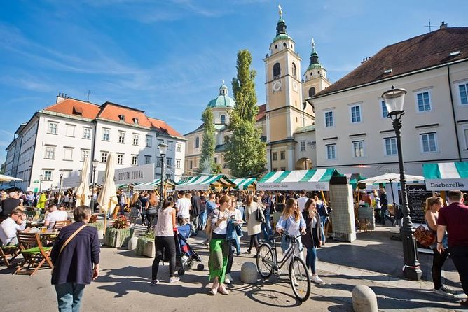 Private city tour of Ljubljana. 2 hours with a friendly and fun local guide.