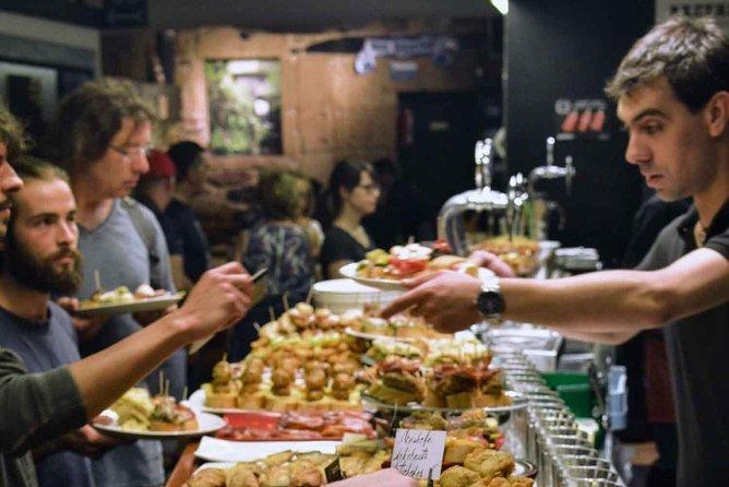 Secret Gastronomic Basque Society & Pintxo and wine tasting tour (dinner)