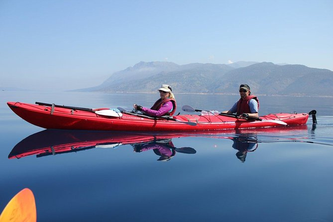 Full day guided Kayak, Snorkeling & Beaches of Lefkada Private tour photo 1