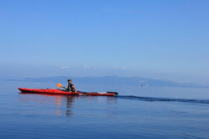 Full day guided Kayak, Snorkeling & Beaches of Lefkada Private tour photo 4