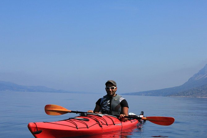 Full day guided Kayak, Snorkeling & Beaches of Lefkada Private tour photo 3