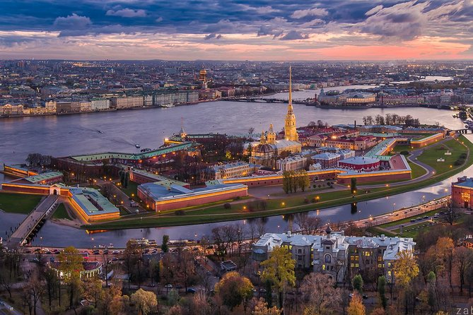 Entrance to the Peter and Paul fortress and 2 hour group tour
