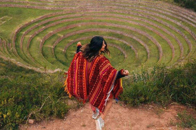 Maras Salt Mines and Moray Archeological Site from Cusco