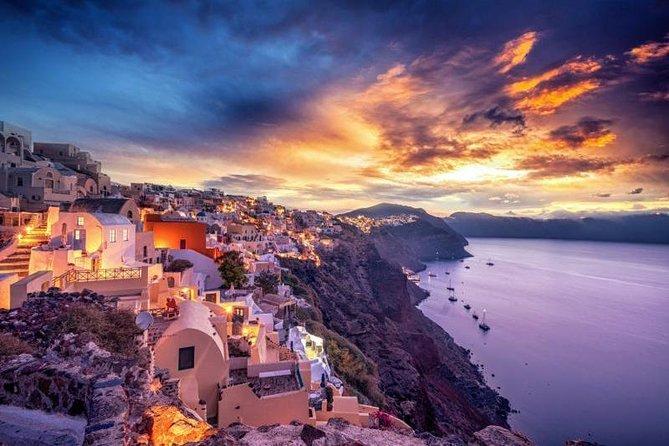 Santorini Day-trip Semi private 5hour