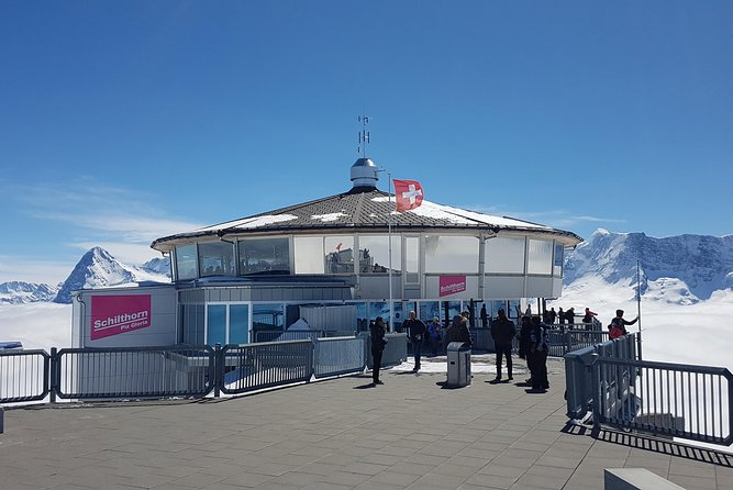 Schilthorn Piz Gloria (James Bond Location) Small Group Tour from Interlaken