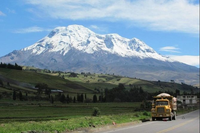 Travel to the closest point of the sun volcano Chimborazo bike and hike