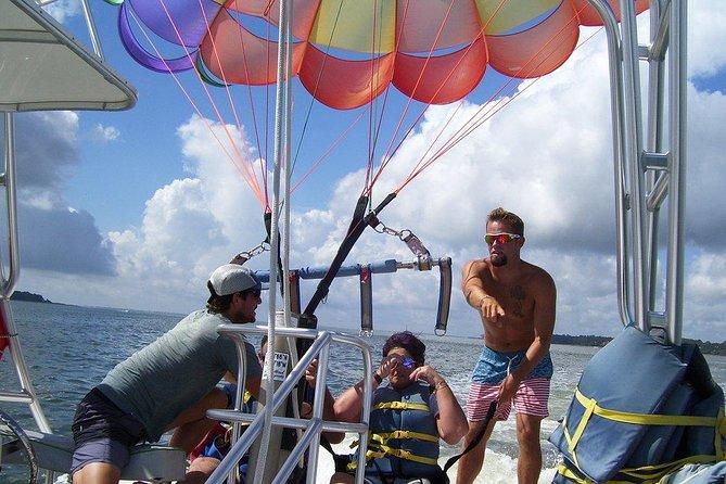 Parasailing Adventure at the Hilton Head Island