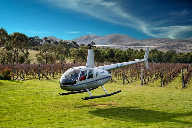 Frogmore Creek Winery by Helicopter with Lunch