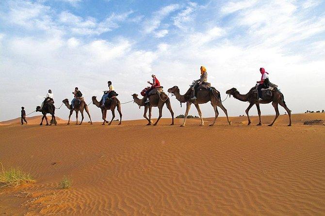 4 Days 3 Nights tour from Marrakech end up in Marrakech via Merzouga Desert