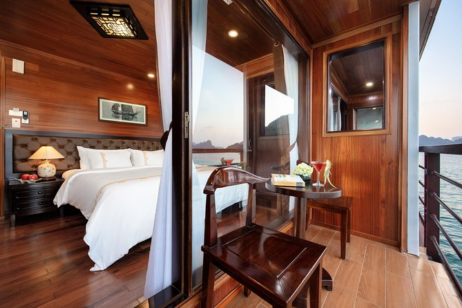 3-day V'Spirit Cruise of Halong Bay-Lan Ha Bay from Hanoi