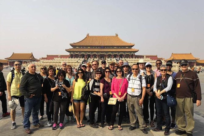 3 Days Beijing Group Tour from Tianjin Cruise Port without Shop Stops