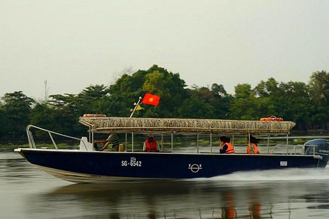 Cu Chi Tunnels Waterway Trip - Half Day Morning Tours