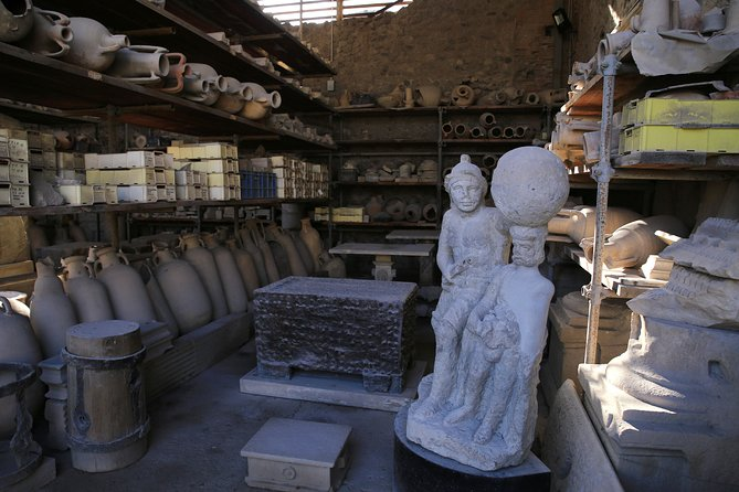 Pompeii Full-day Tour Including all Highlights and Newly Opened Houses