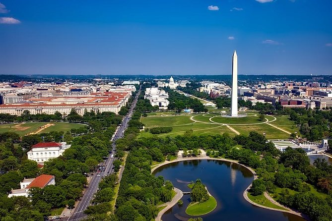 Arrival Private Transfer Ronald Reagan Airport DCA to Washington DC by SUV