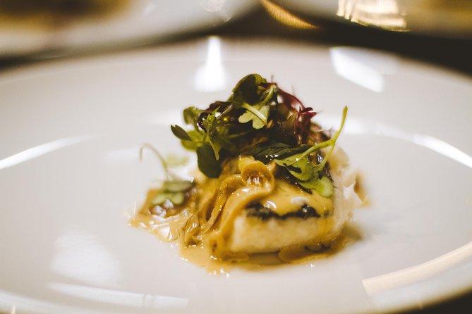 Clandestine dinner 12-course tasting menu and wine pairing