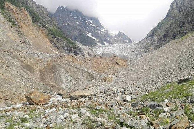 Chalaadi glacier hiking in Svaneti