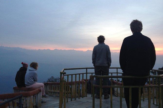 Breakfast on Mountain with Easy Hiking from Kathmandu