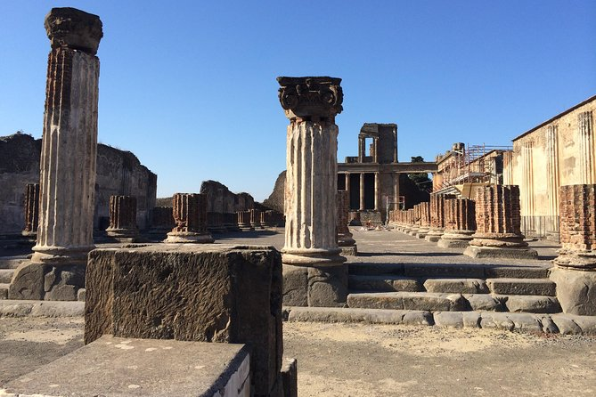 Pompeii-Vesuvius-Wine tour from Sorrento, licensed guide included