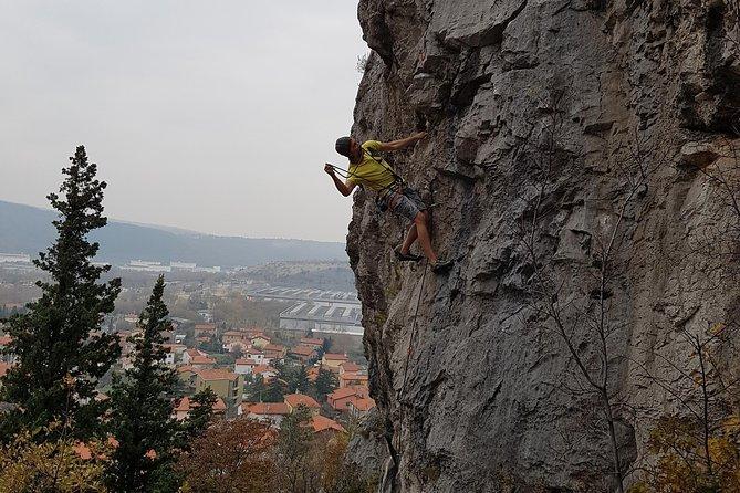 Rock climbing in central Slovenia (Ljubljana region)
