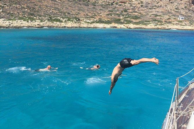 Day Private Sailing Cruises to Balos Lagoon, Gramvousa Island and more.