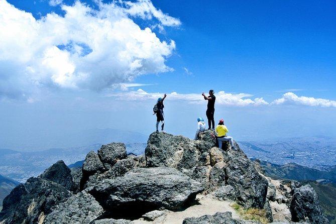 Quito Volcano Summit Hike