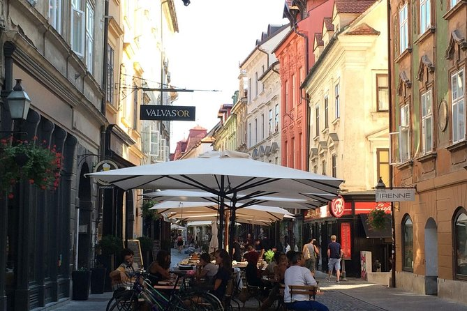 Taste of Ljubljana: Small Group or Privat Walking Tour Including Local Lunch