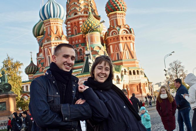 Red Square and City Ultimate Tour with a Professional Local Guide