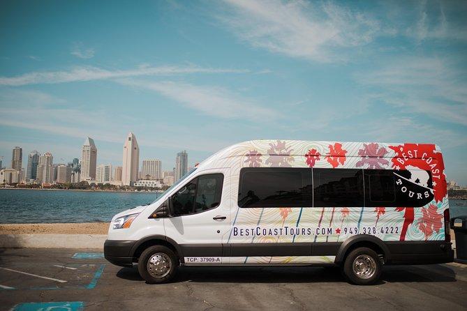 The San Diego Tour: La Jolla, Old Town, Gaslamp, Coronado Island -from San Diego