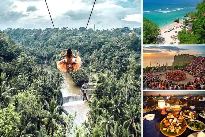 Bali Swing and Uluwatu Sunset Tour