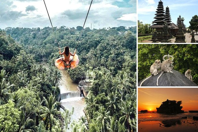 Bali Swing and Tanah Lot Sunset Tour