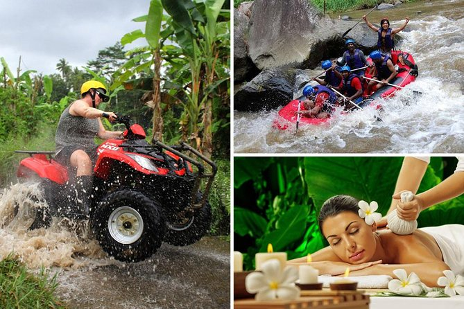Ayung Rafting - Quad Bike - Bali Spa Packages
