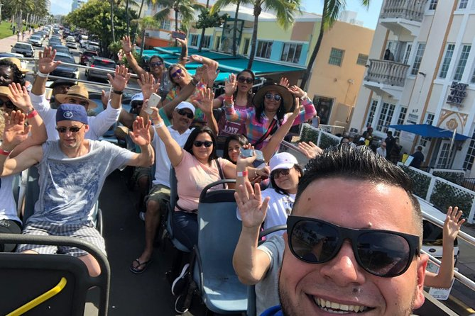 Miami City Tour by Bus (Double Decker) City Sightseeing
