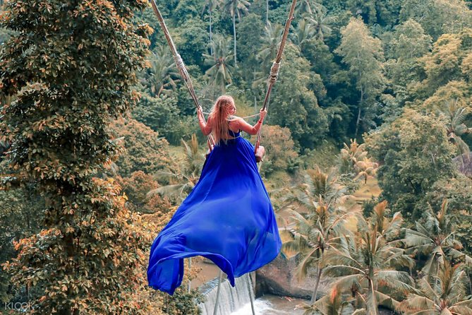 Ubud Jungle Swing, Temple & Waterfall Tour (Private Half Day Tour)