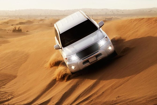 VIP Desert Safari Dubai with Buffet Dinner, Camel Ride,Sand Boarding and 3 Shows