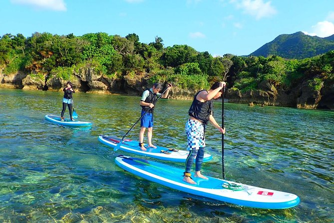 Stand Up Paddling and Canoe Tour at Kabira Bay in Ishigaki