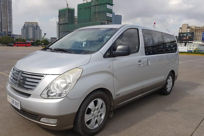 Overland Taxi Transfer Koh Chang, Thailand to Siem Reap, Cambodia