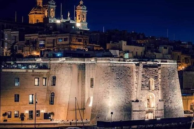 Malta By Night (Private Cab Tour)