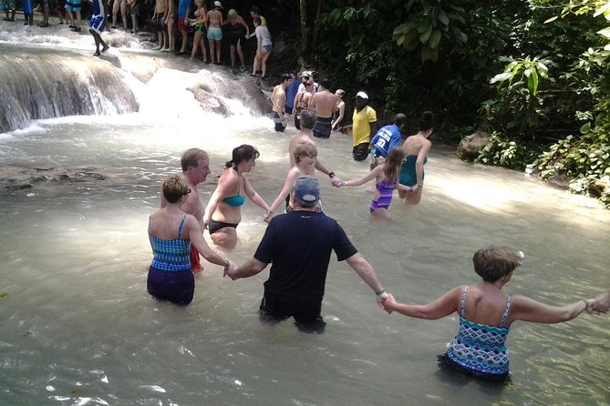 Thrill Seekers Adventure Dunn's River Falls, River Tubing from Montego Bay
