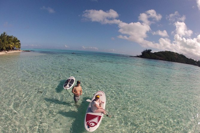 Stroll out of time on the lagoon of Bora Bora