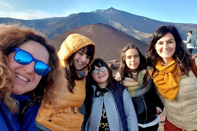 Half-Day Morning Tour to Volcanic Caves in Etna with Pickup