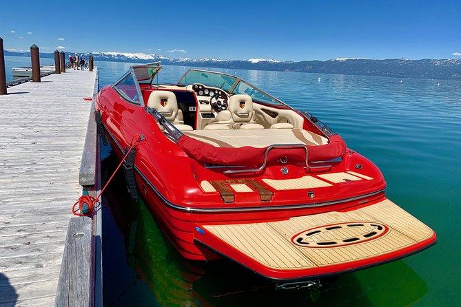 Emerald Bay Sunset Boat Charter - Romance on the Lake