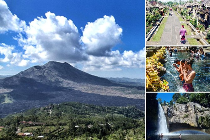 Bali Traditional Village, Volcano, Holy Spring Temple and Waterfall Tour