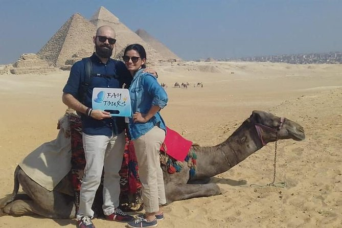 Day Tour: Egyptian Museum and Giza pyramids and Hanging Church
