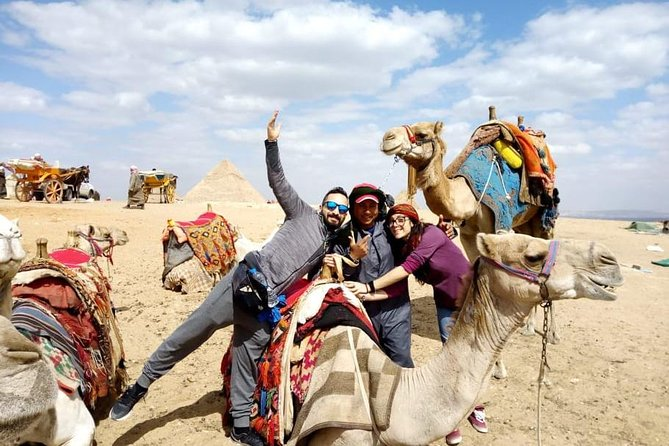 Private Day Tour to Giza Pyramids, Saqqara, Memphis and Camel Ride