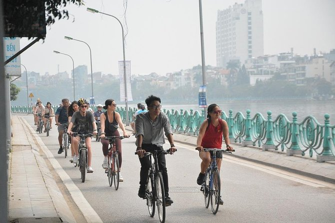 Half Day: Bicycle Tours in Hanoi City